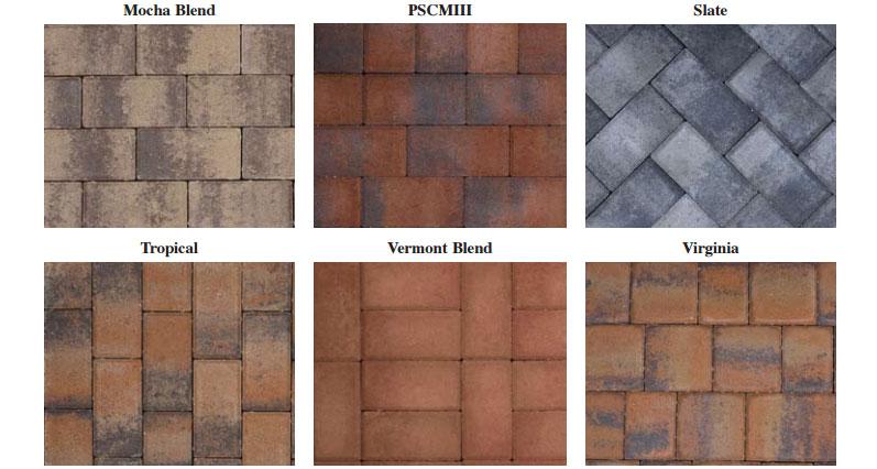 U.S. paverscape grey cement colors