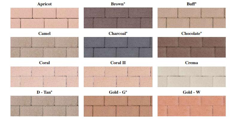 U.S. paverscape solid colors